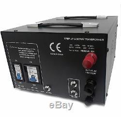 10000 Watt Heavy Duty Voltage Transformer Converter Hardwired Step Up/Down Best