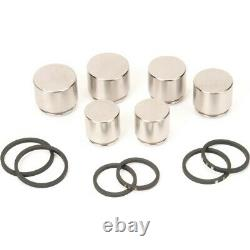179-2263 AC Delco Brake Caliper Pistons Set of 6 Front New for Chevy Camaro CTS