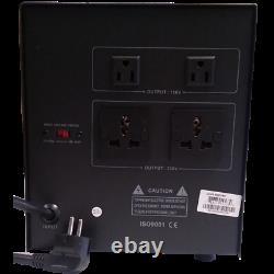 5000W Step Up and Down Voltage Converter Transformer & Regulator 110V/220V