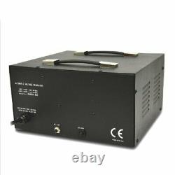 5000 Watt Voltage Converter Transformer Heavy Duty Regulator Meter Step Up Down