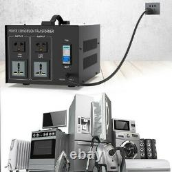 8000W Power Voltage Transformer Converter Heavy Duty Step Up/Down 110V To 220V