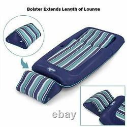 Aqua Premium Convertible Pool Lounger, Inflatable Pool Float, Heavy Duty, X