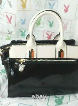 Authentic Playboy High Quality Faux Leather Ladies Handbag New With Tags