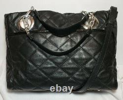 Brighton Pretty Tough Linaria Logan Quilted Studded Rose Crossbody Handbag $320