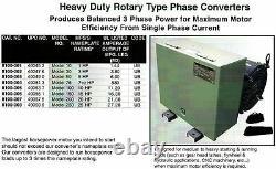 CEDARBERG Heavy Duty Rotary Phase Converter 8100-003