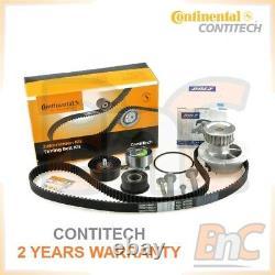 Contitech Dolz Heavy Duty Timing Belt Kit & Water Pump Opel Astra G 1.4 1.6