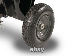 Convertible Dump Push Cart Trolley Garden Lawn Yard Utility Wagon Wheelbarrow