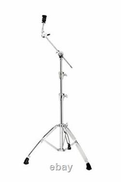 Heavy Duty Convertible Boom Cymbal Stand with Single Point Boom Arm Adjuster
