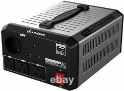 KRIËGER 1700 Watt Hi-Voltage Transformer 110/120V to 220/240V AC Step Converter