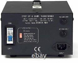 LiteFuze 3000 Watt Voltage Converter Transformer 110V/220V(LGLT-3000)