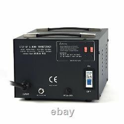 LiteFuze No. 1 Recommended LT-5000 Voltage Transformer Converter Step UP/Down