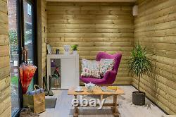 Luxury Garden Room, Log Cabin, Summer House converted shipping container