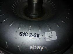 New BU60HD Heavy Duty Torque Converter For 6L80 / 6L90 Billet Cover (GRC)