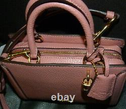 Nwt Coach Zoe Micro Leather Mini Crossbody Handbag Purse Rose F3015 3015 F72667