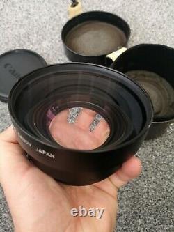 Rare Heavy Duty Canon Wide Converter 0.8x 82669 Japan With Original Case Lens
