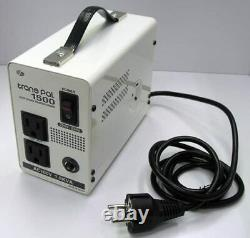 SWALLOW Voltage Converter PAL-1500EP Overseas 220/230V to 100V 1500W NEW