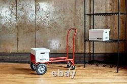 Safco Products Convertible Heavy-Duty Utility Hand Truck Red