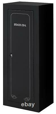 Security Cabinet Locker 14 Gun Convertible Heavy Duty Rifle Shotgun Storage Safe