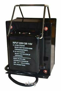 Starlite 5000 Watt Step Up/ Down Voltage Converter Transformer WTG-5000 5 Ye