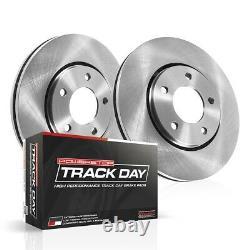 TDBK5159 Powerstop 2-Wheel Set Brake Disc and Pad Kits Rear New for Chevy XLR