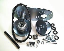 Upgraded Heavy Duty Steel Plate Torque Converter 3/4 10T #40/#41/#420 Tav2 30