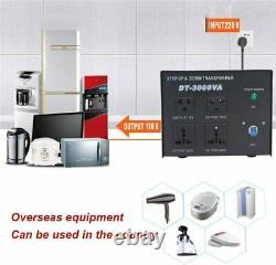 Yinleader Power Converter 3000W Step Up/Down AC 110V/120V/220V/240V Heavy Duty