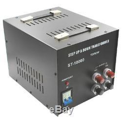 10000w Watt Convertisseur Abaisseur De Tension D'alimentation Électrique Transformateur Heavy Duty