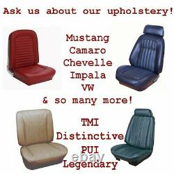 1964 1966 Mustang Rembourré Convertible Top Boot Withfastener Design In Any Color
