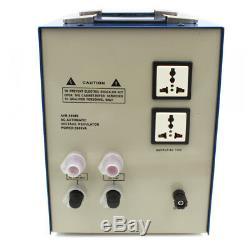 5000 Watt Abaisseur 220-110 Tension Convertisseur Stabilisateur Du Transformateur