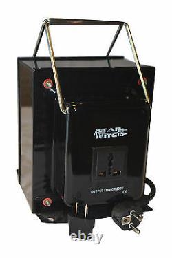 5000 Watt Heavy Duty Étape Tension Haut / Bas Convertisseur Transformateur 5000 Watt