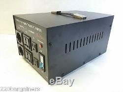 Abaisseur Simran 5000 Watt Convertisseur De Tension Du Transformateur 110 220 Volts 5000w