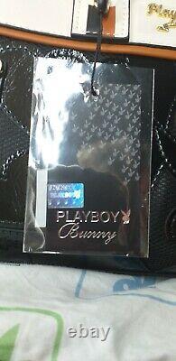 Authentique Playboy Haute Qualité Faux Cuir Dames Sac À Main Nouveau Avec Des Balises
