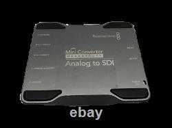 Blackmagic Design Mini Convertisseur Heavy Duty Analogue À Sdi