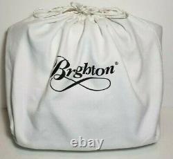 Brighton Pretty Tough Linaria Logan Quilted Studded Rose Crossbody Sac À Main $320