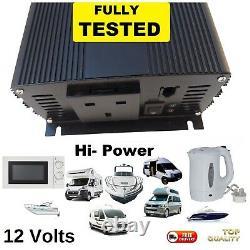 Camper Bateau 12v 240v Robuste Convertisseur Inverter Pour Ondes Build Auto
