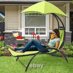Chaise De Salon Grand Jardin Robuste Sun Canopy Bed Avec Coussin Thicken