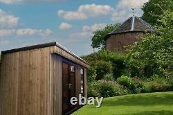Chambre De Jardin De Luxe, Carlingue De Notation, Récipient Converti D'expédition De Maison D'été