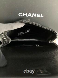 Chanel Alors Noir Mini Coco Poignée Petit Classique Flap Veau Nouveau Caviar Nwt 2020 20a