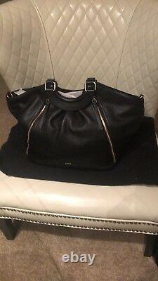 Dkny Pebbled Leather Top Handle Sac À Main Nouveau Avec Des Étiquettes