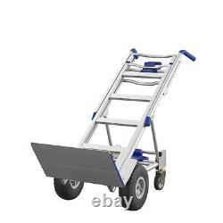 Dolly Heavy Duty Hand Truck 3 En 1 Convertible Aluminium 4 Wheel Cart 1000 Lbs
