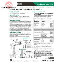 Everbilt Convertible Jet Pump 1 HP Heavy-duty Dual Voltage 115/230-volt Motor