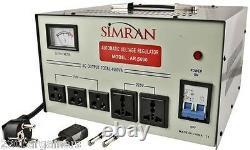 Le Meilleur Convertisseur De Tension Nouveau 5000w Avec Stabilisateur 220 V 110v Transformateur 5000 Watt