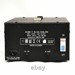 Litefuze Lr-3000 Régulateur De Tension Convertisseur Transformateur Step Up / Down 3000w