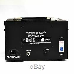 Litefuze Lr-5000 Transformateur De Tension Régulateur Convertisseur Séquenceur Haut / Bas 5000w