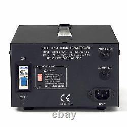 Litefuze Lt-3000 Convertisseur De Tension Transformateur Heavy Duty Step / Down 3000w