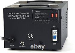 Litefuze Lt-5000 5000 Watt Transformateur Convertisseur De Tension Étape Vers Le Haut / Bas