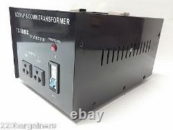 Meilleur 5000 Watt 110-220 Volt Convertisseur De Tension Du Transformateur 220v À 110v 5000w