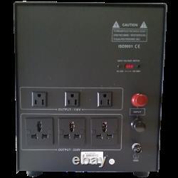 Nouveau Convertisseur De Puissance De 8000 Watt Stabilisateur 110v 220v Transformateur 8000w 110-220 V