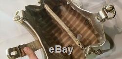 Nwt Brahmane Elisa Calcaire Tri Texture Cuir Melbourne Croc