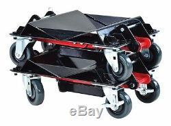 Outils Dae 7469 Heavy-duty Convertible Car Set Dolly (une Paire) Marque Nouveau